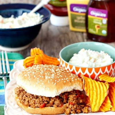 Easy Sloppy Joe Recipe | HT Organics