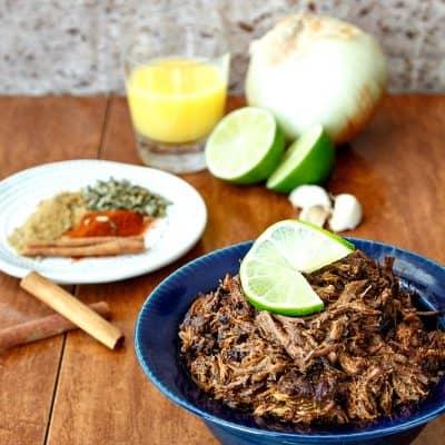InstantPot Smoky Beef Carnitas Lettuce Wraps | Fickle Creek Farm