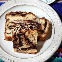 Twice-Glazed Chocolate Babka with Pecans
