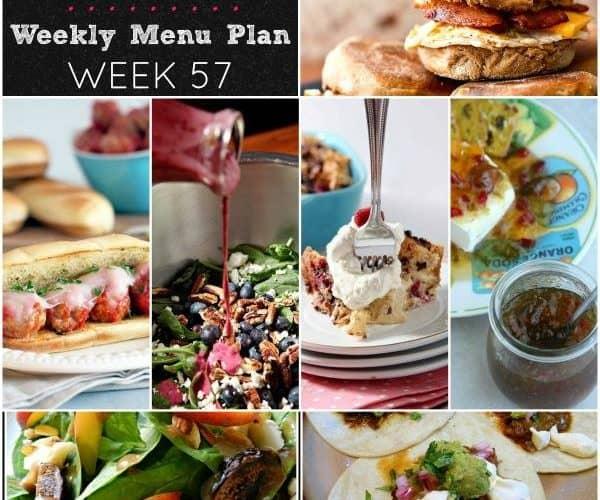Dinner Divas Weekly Meal Plan, Week 57   5 Mains, 2 Extras