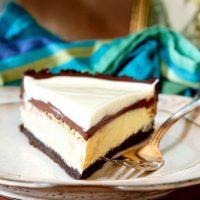 Chocolate Cheesecake Pie for Greg | His Birthday Pie