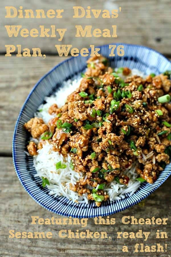 Revel in a host of fall flavors by cooking from our Dinner Divas Weekly Meal Plan, including this short cut