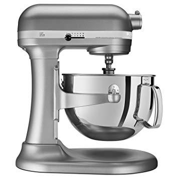 KitchenAid RKP26M1XSL Professional 600 6-Qt. Bowl-Lift Stand Mixer, Certified Refurbished