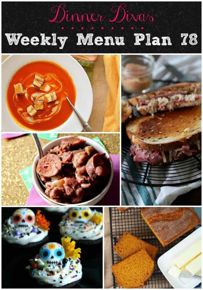 Our weekly meal plan post features all the soup (both slow cooker and stove-top), red beans and rice, a deli sandwich classic and two extras for dessert or coffee break time! #mealplan #menuplans | pastrychefonline.com