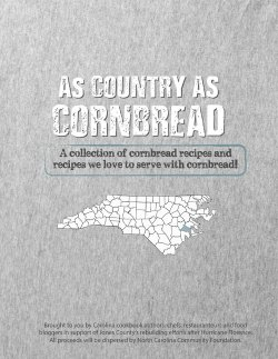as country as cornbread fundraiser