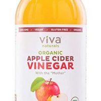 Viva Naturals Raw Organic Apple Cider Vinegar, 32 oz