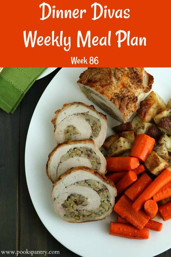 Our weekly meal plan post for week 86 is meaty but speedy, so that's a nice combination, especially during cold weather. Enjoy old family favorite recipes or get to know some new family favorites! #mealplanning   pastrychefonline.com