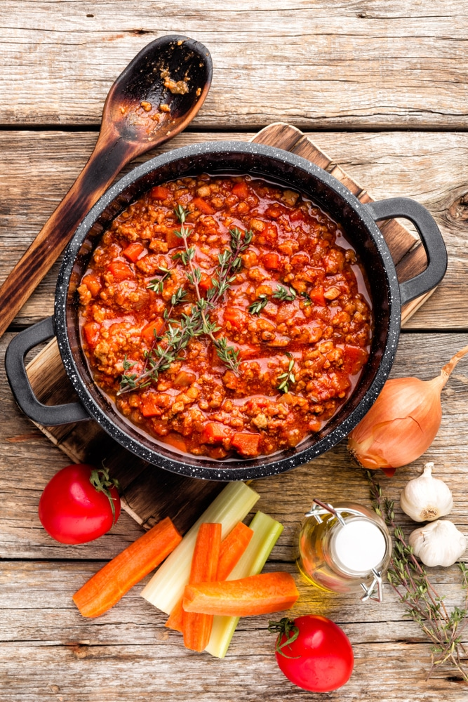 Instant Pot Vegetable Bolognese