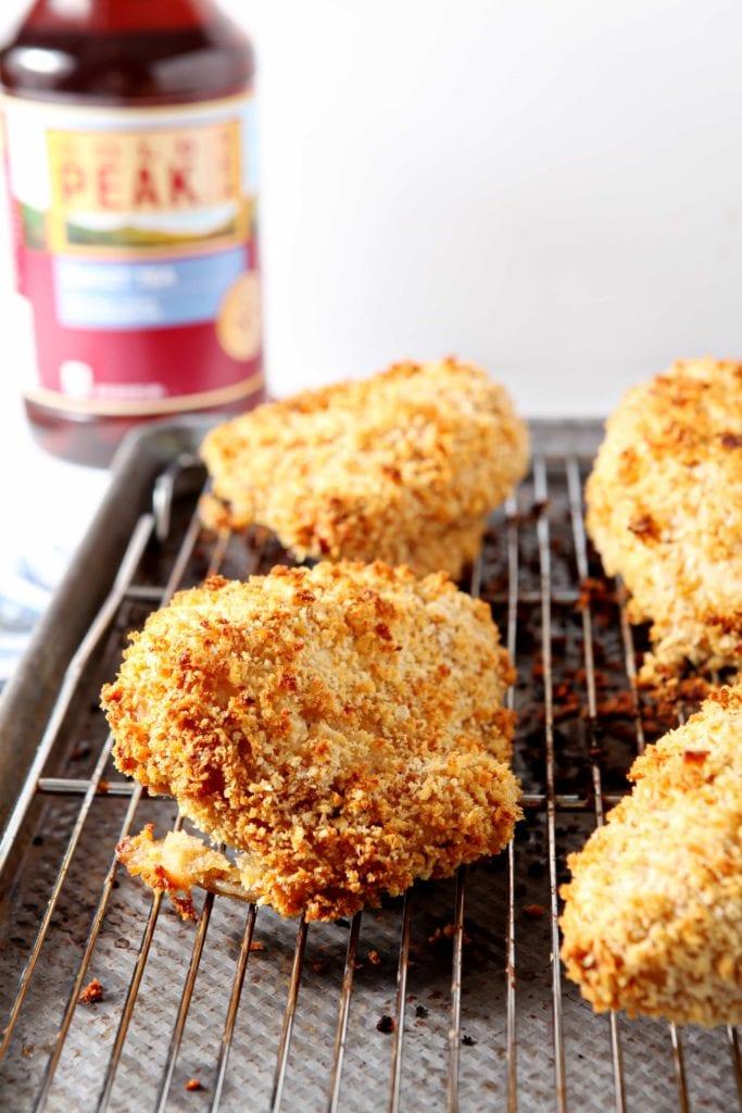 Sweet Tea Oven Fried Chicken