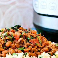 Instant Pot Pinto Beans: Charro Beans