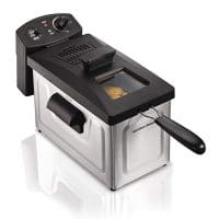 Hamilton Beach (35033) Deep Fryer, With Basket, 2.8 Liter Oil Capacity, Electric, Professional Grade