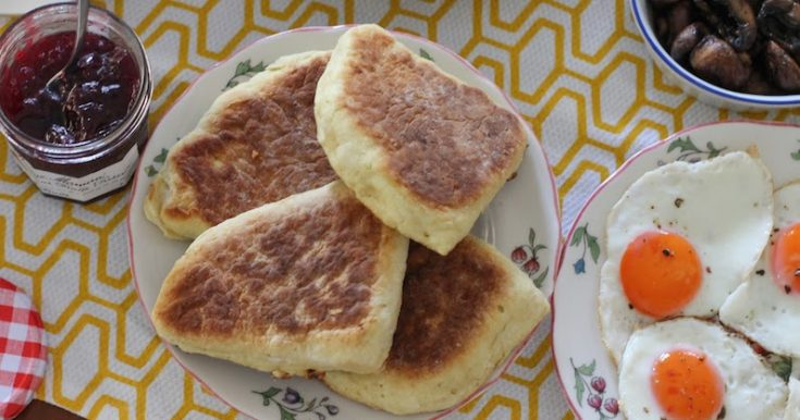 Soda Bread Farls #BreadBakers