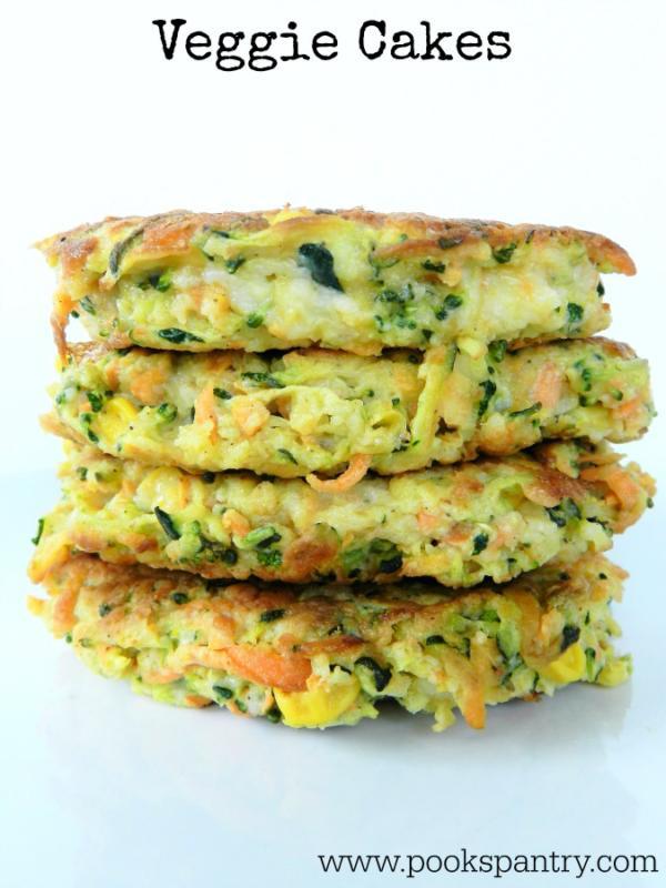 Veggie Cakes | Pook's Pantry Recipe Blog