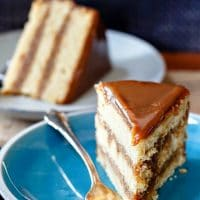 Irresistible Butterscotch Cake