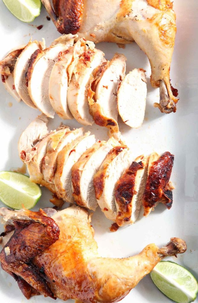 Chipotle Lime Spicy Beer Can Chicken