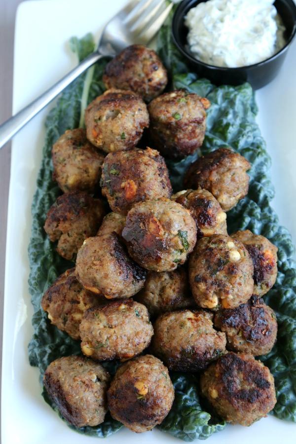 Mediterranean Meal Prep Lamb Meatballs