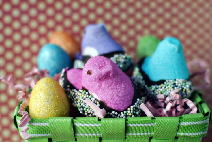 Easter Peeps Gone Wild - Pass The Sushi