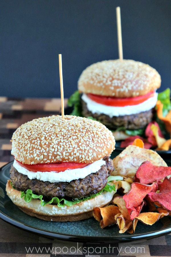 Middle Eastern Spiced Lamb Burger Recipe | Pook's Pantry Recipe Blog
