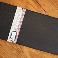 Slateplate 8x16 Natural Slate Cheese Board w/Chalk