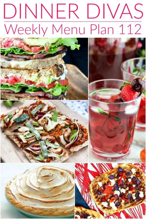collage image for weekly meal plan week 111