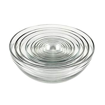 Glass Nesting Bowl Set