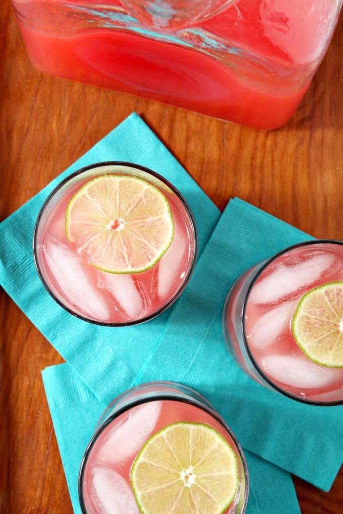 Spiked Watermelon Limeade