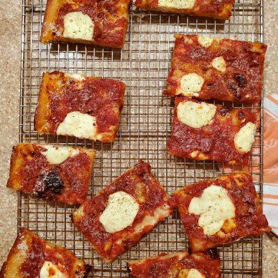 Grandma Pizza Dough Recipe from Perfect Pan Pizza