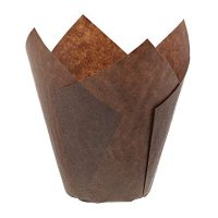 Tulip Style Baking Cups, Large, Sleeve of 200