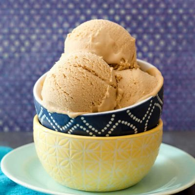 The Best Butterscotch Ice Cream Recipe| No Special Equipment!