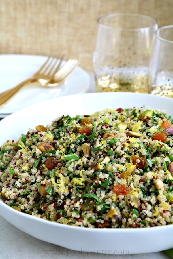 Mediterranean Quinoa Salad | Pook's Pantry Recipe Blog