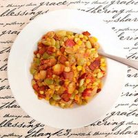 Spicy Succotash for Progressive Eats