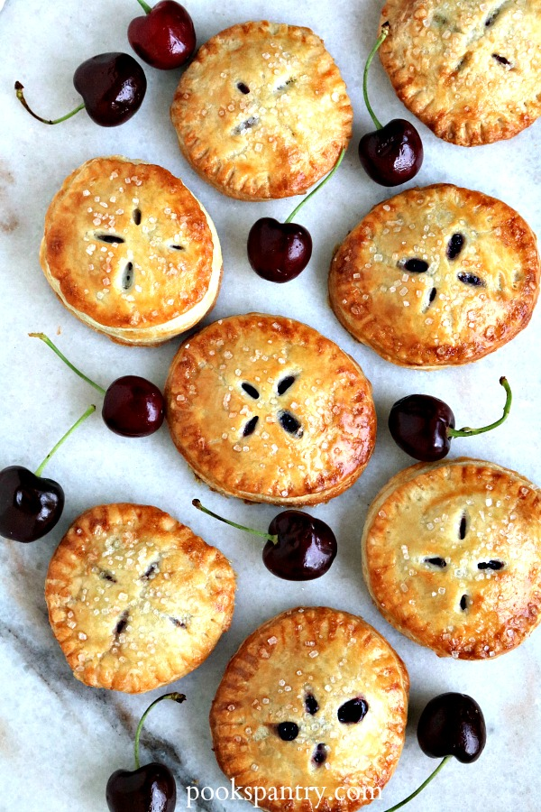 How to make summer Cherry Hand Pies from scratch