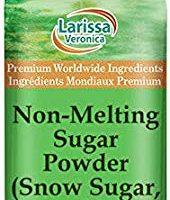 Sugar Snow (Non-Melting Powdered Sugar)