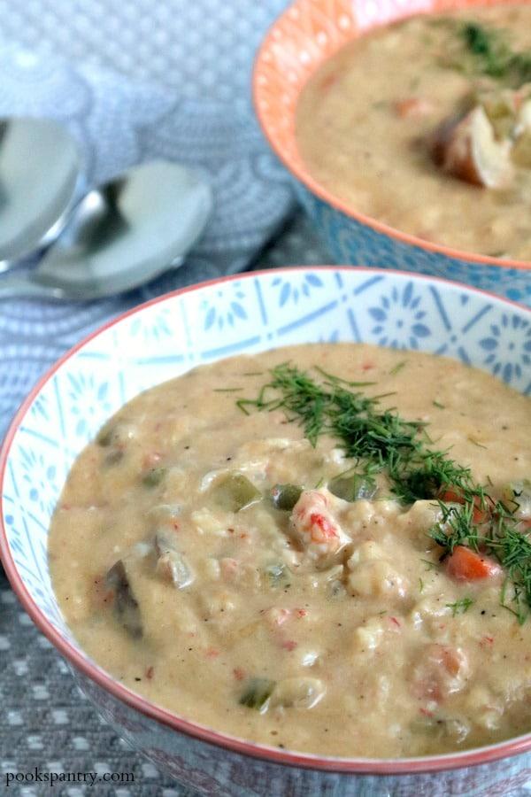 Langostino Chowder Recipe | Pook's Pantry Recipe Blog