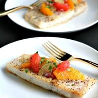 Corvina Fish Recipe with Citrus Salsa | Pook's Pantry Recipe Blog