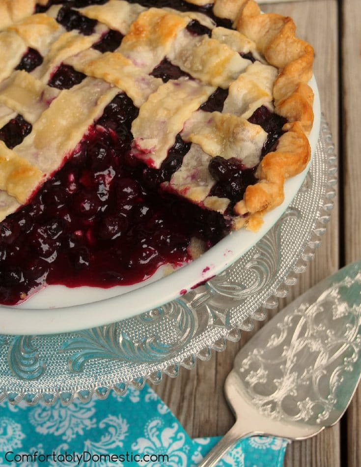 The Best Blueberry Pie Recipe