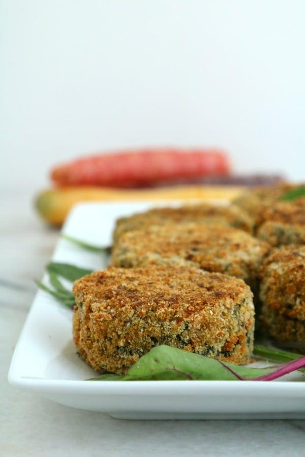 Superfood Veggie Cakes | Pook's Pantry