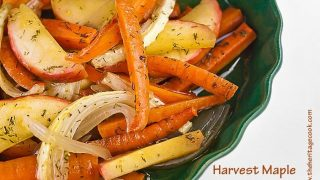 Harvest Maple Carrots and Apples Recipe