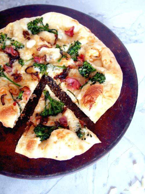 Prosciutto Broccolini Pizza