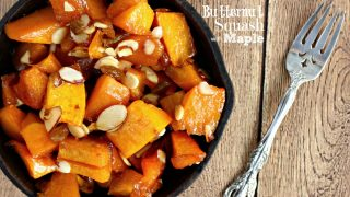 Butternut Squash with Maple