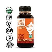 Date Lady Organic Date Syrup 12 Ounce, Set of 2