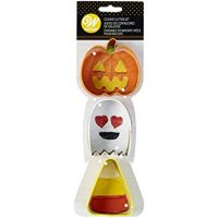 Wilton Halloween 3 pc Cookie Cutters