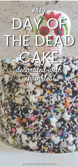 pin image for easy day of the dead cake