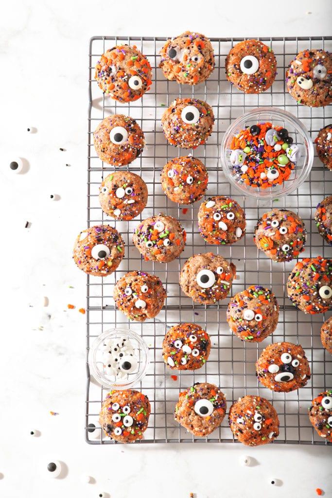 Halloween Funfetti Cookies