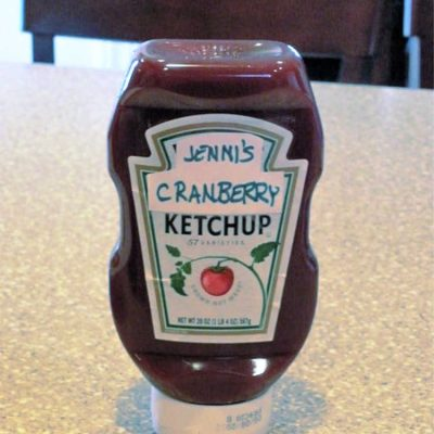 Tangy Cranberry Ketchup | Kid and Turkey Sandwich Approved!