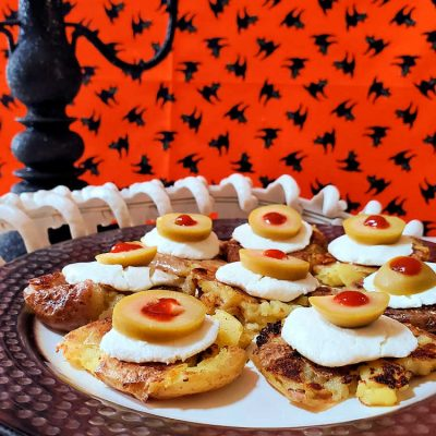 Halloween Potato Eyes | An Easy Halloween Appetizer