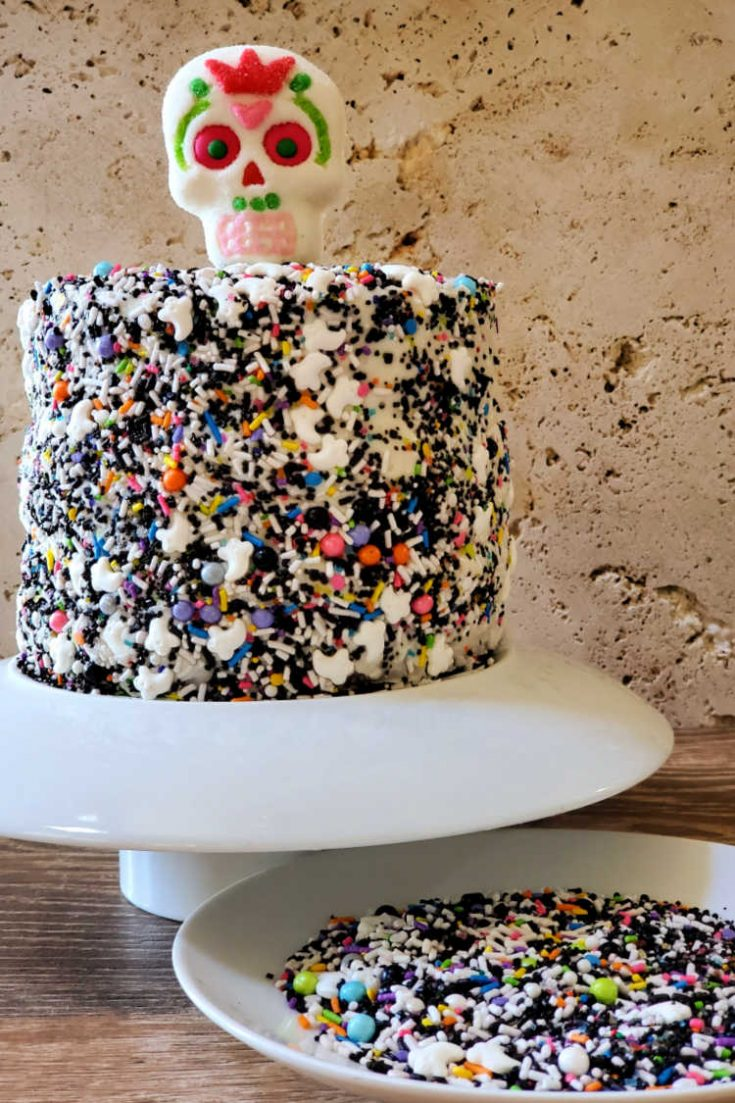 Easy Day of the Dead Cake