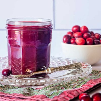 Tangy Cranberry Ketchup Recipe | Turkey Sandwich's Best Friend